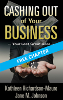 Cashing Out of Your Business_Cover Free Chapter Banner