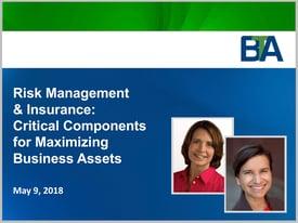 Webinar Thumbnail_Risk Management and Insurance